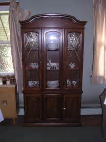 broyhill illuminated china cabinet for sale antiques