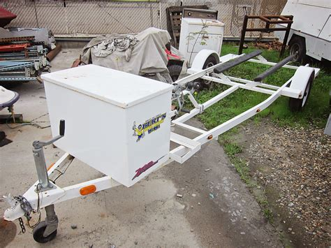 zieman boat trailer for sale 2003 used single place zieman watercraft trailer for sale