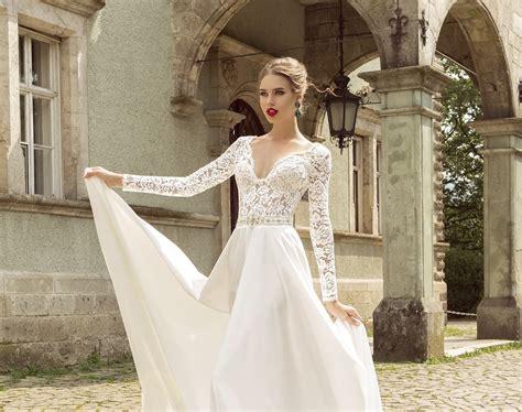 imagenes de vestidos de novia con media manga vestidos de novia con manga larga lo mejor en bodas