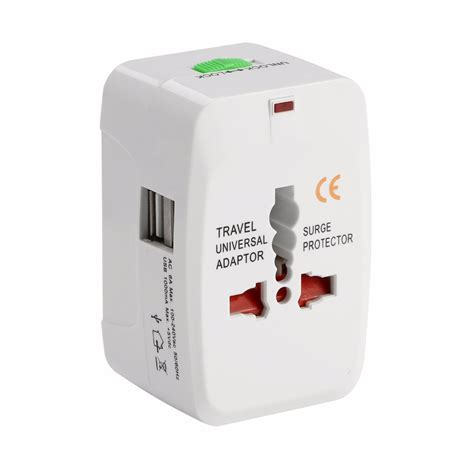 Universal Travel Adaptor All In One International All In One Universal International Adapter Port World