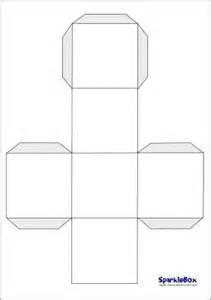 6 sided cube template blank dice template sb223 sparklebox school ideas