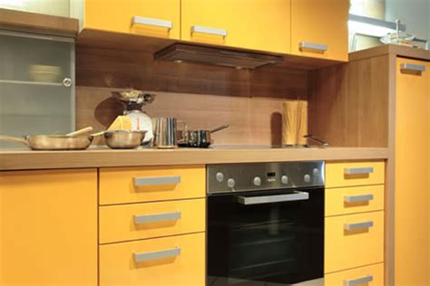 Kitchen Color Design Ideas by Bold Yellow Color Modern Kitchen Design Ideas Kitchen