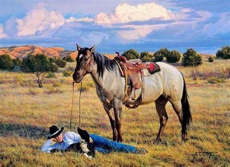 imagenes de vaqueras y caballos cuadros modernos pinturas y dibujos cuadros al 211 leo de