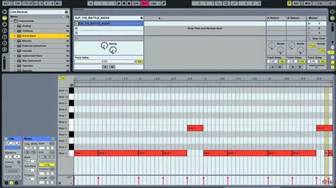 dnb drum pattern ableton creating drum and bass beats in ableton live online