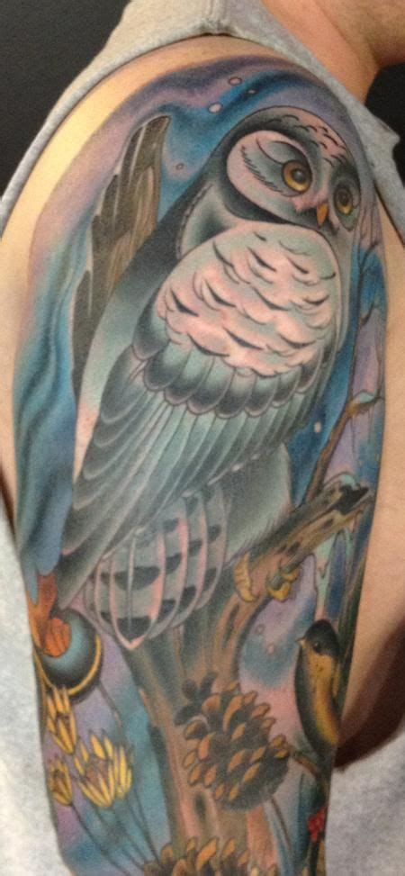 snowy owl tattoo designs 17 best images about owls on guardians of ga