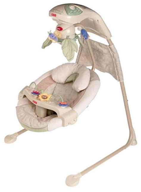 swinging papasan fisher price nature s touch baby papasan cradle swing