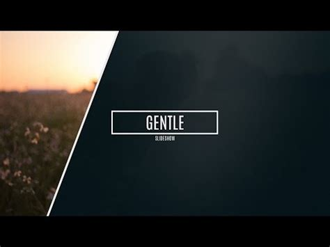 free after effects cs5 template gentle photo slideshow