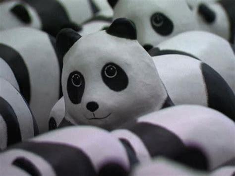 How To Make A Paper Mache Panda - papier m 226 ch 233 pandas arrive in hk