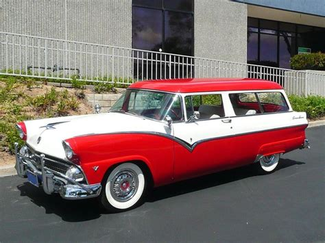 lincoln mercury ford 1955 ford country sedan station wagon jpm