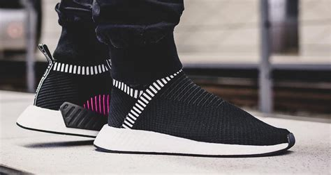 Adidas Nmd City Shock Black adidas nmd cs2 primeknit quot shock pink quot pack lands this week