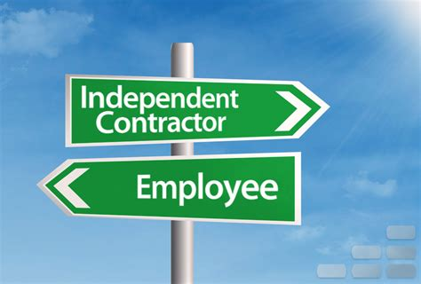 self employment guide employees vs independent contractors farkouh furman faccio llp