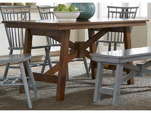 Liberty Furniture Dining Table Liberty Furniture Dining Room Rectangular Leg Table 38 T3260 Furnitureland Delmar Delaware