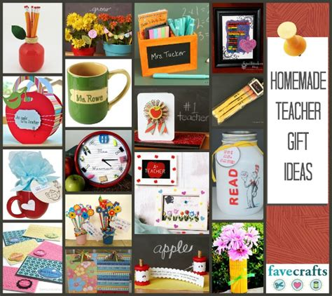 Handmade Gift Ideas 2014 - thank your teachers 25 gift ideas