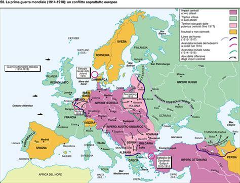 mappa concettuale l impero austro ungarico e europa tattica