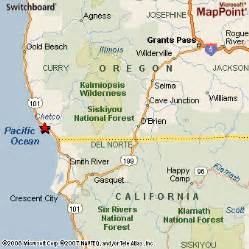 map brookings oregon brookings oregon