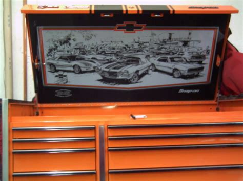 snap on camaro tool box snap on special edition camaro tool box ls1tech