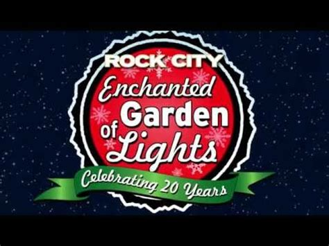 Rock City Gardens Coupons Rock City S Enchanted Garden Of Lights Celebrating 20 Years