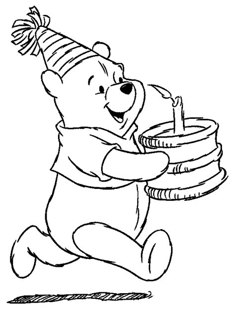 Winnie the pooh happy birthday and have a fun with winnie the pooh