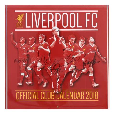liverpool official 2017 calendar liverpool fc gifts lfc gifts accessories and present ideas including hats scarves bags