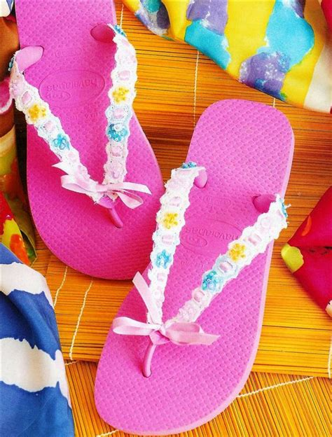 ideas for flip flop craft projects 10 diy flip flop projects how to embellish your sandals