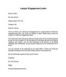 sample attorney engagement letter letter of recommendation