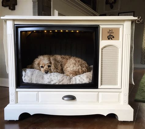 tv dog bed pupdated console tv dog bed celebrate every day