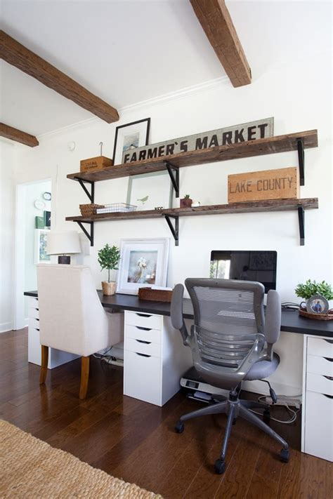 cottage style office master bedroom update alex and linnmon ikea desk the