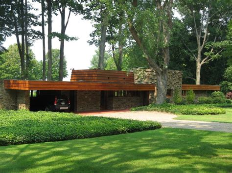 Frank Lloyd Wright Style Houses by Usonian House Plans