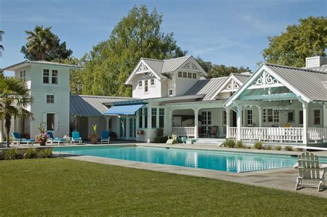 Luxury One Story House Plans victorian pool house atherton california victorien