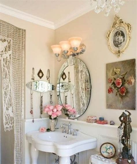 vintage chic home decor 28 lovely and inspiring shabby chic bathroom d 233 cor ideas