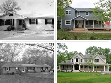 how to renovate an old house not just a ranch anymore best ranch house before and