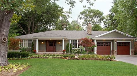 ranch style bungalow bungalow transformation 2