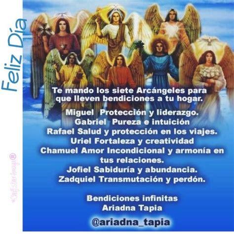 oracion para que se arrepienta y sea fiel 25 melhores ideias sobre arcangeles nombres no pinterest