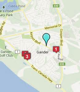 gander canada map gander nf hotels motels see all discounts