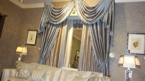 curtain swags and tails velvet swags tails drapes pinterest