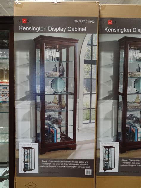 pulaski kensington display cabinet