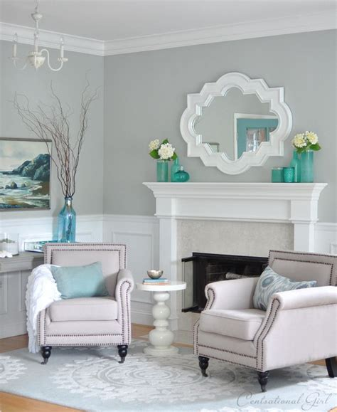 living room color sherwin williams light blue gray