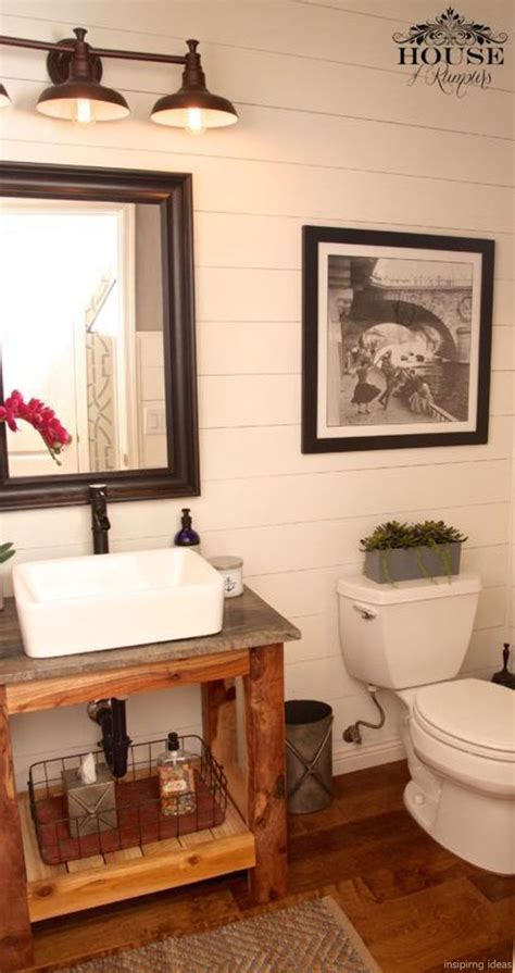 awesome modern farmhouse bathroom vanity ideas rustic