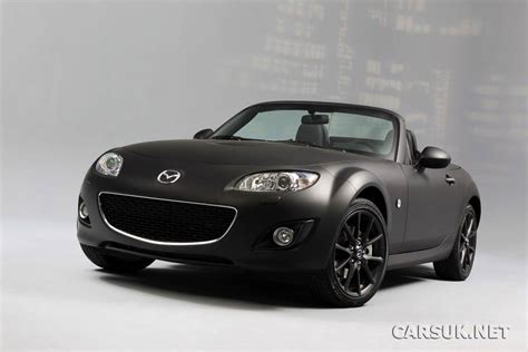 black mazda mx5 mazda mx 5 black matte edition revealed