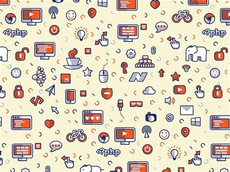 seamless icon pattern 20 free seamless icon patterns for designers hongkiat