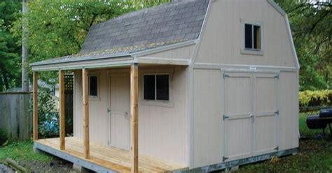 Garden Shed Catalog by 12x16 Premier Barn W Porch By Tuff Shed Storage