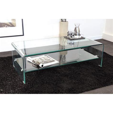 tables basses en verre design tables basses meubles et rangements table basse design side en verre tremp 233 12mm transparent