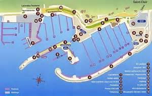 le plan du port du lavandou office de tourisme le lavandou