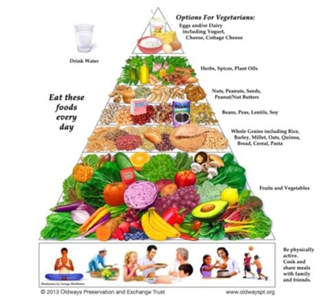 alimentazione vegetariana equilibrata las pir 225 mides de la dieta vegetariana y vegana