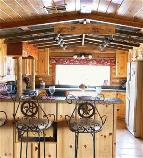 western themed kitchen decor gorgeous rustic cabin manufactured home remodel single