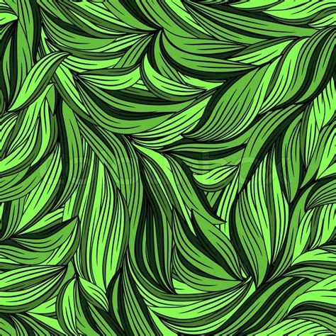 abstract leaf pattern vector seamless abstract pattern with bright leaves