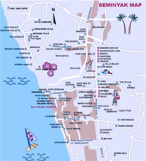 bali around the city seminyak bali maps starting exploring bali with see the maps