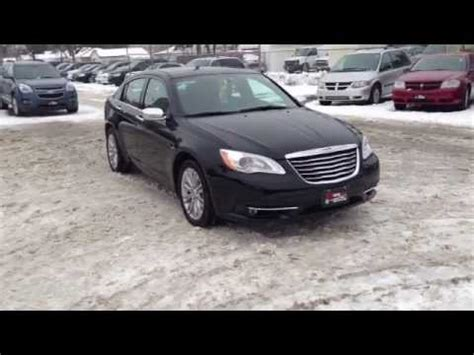 2012 chrysler 200 blacked out 2012 chrysler 200 limited quot black on black quot walk around