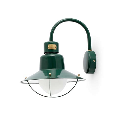 newport green wall lamp faro