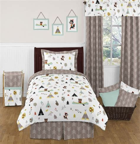Outdoor Crib Bedding Outdoor Adventure Nature 4pc Bedding Set Only 119 99